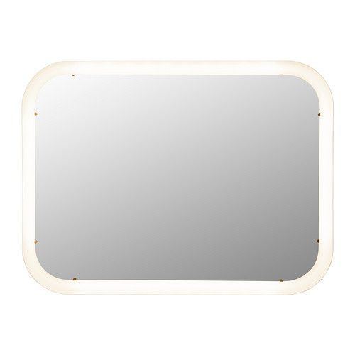 Storjorm Mirror With Integrated Lighting Ikea The Led Light Source Consumes Up To 85 Less