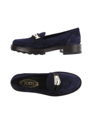 TOD'S Women's Loafer Dark blue 9.5 US