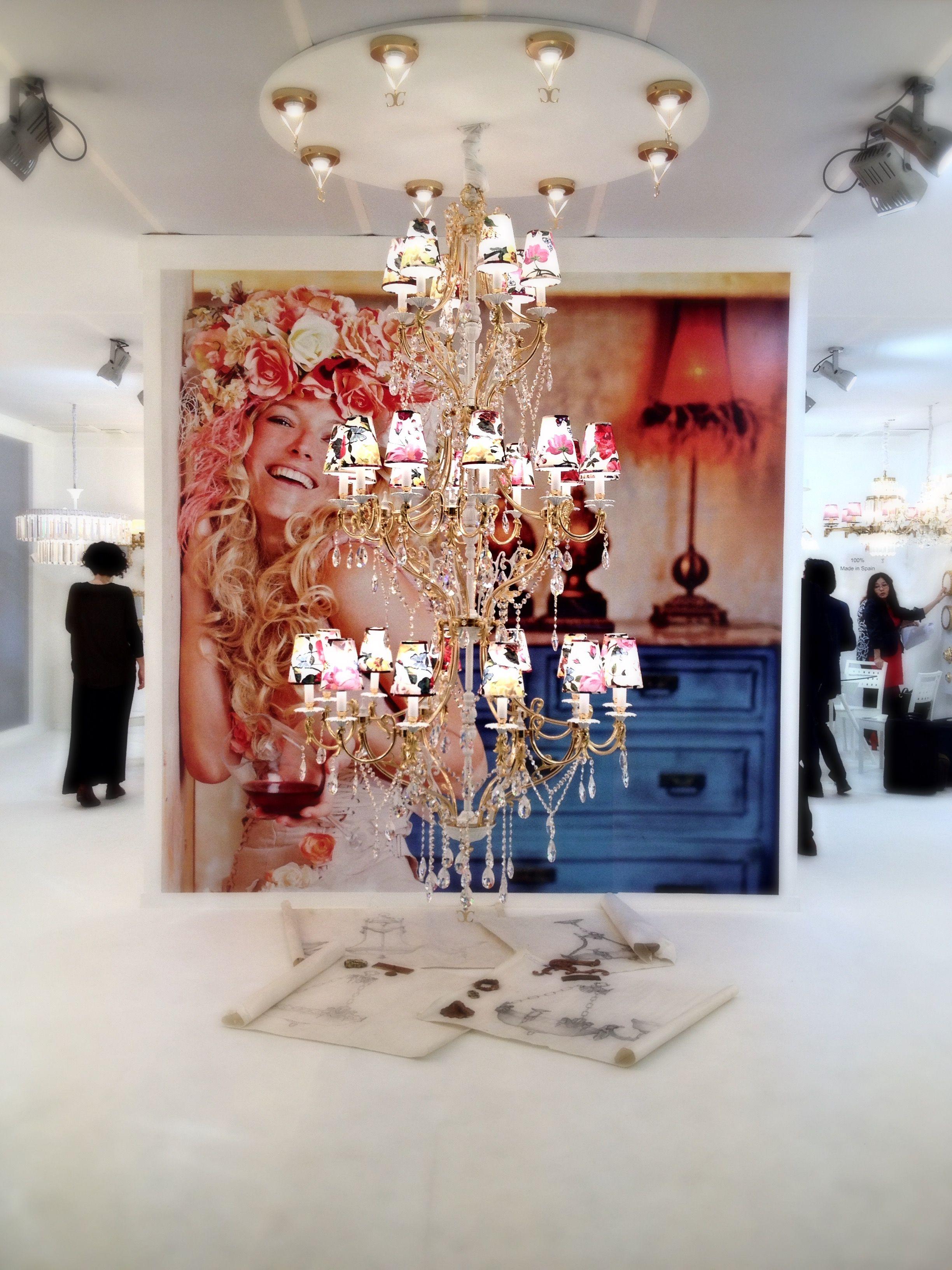 Designbest @ Salone del Mobile Lampadario Cordon | #designbest #salonedelmobile #salonedelmobile2015 #milanodesignweek #mdw2015 #isaloni #design #interiordesign