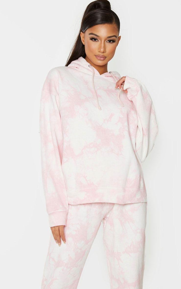 Light Pink Tie Dye Oversized Hoodie Pink Tie Dye Tie Dye Fashion Oversize Hoodie [ 1180 x 740 Pixel ]