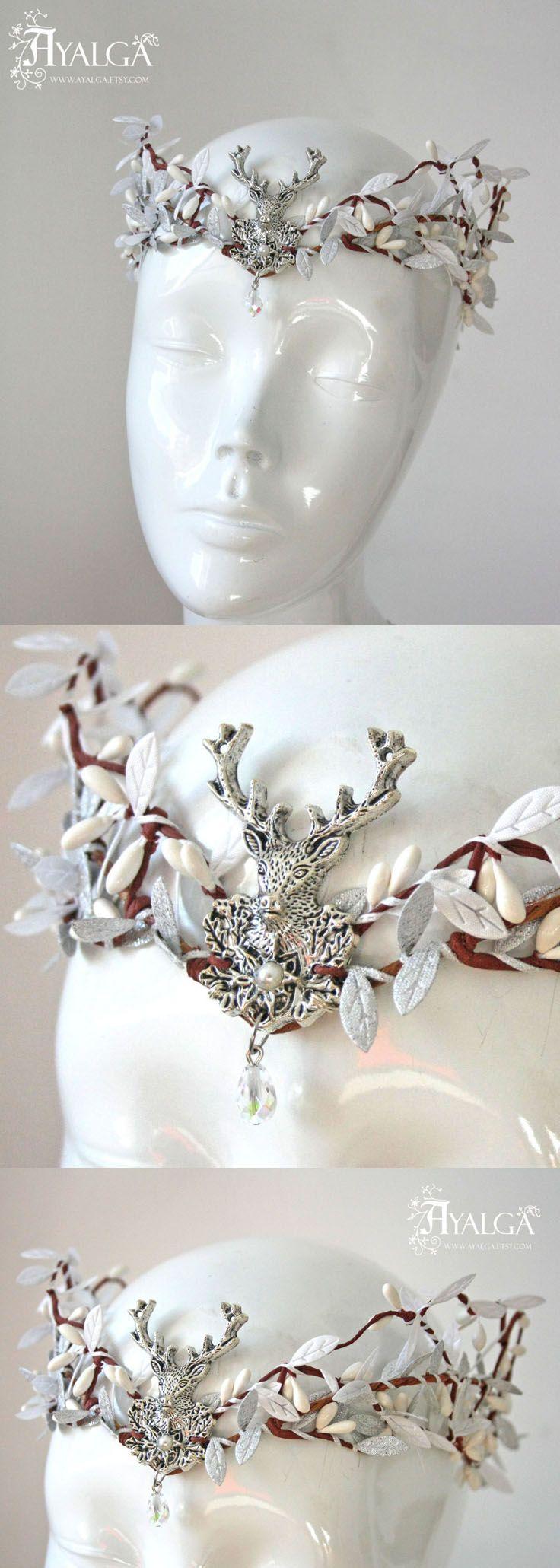 Elven bride tiara - elven tiara - elvish crown. Handmade in Spain ...