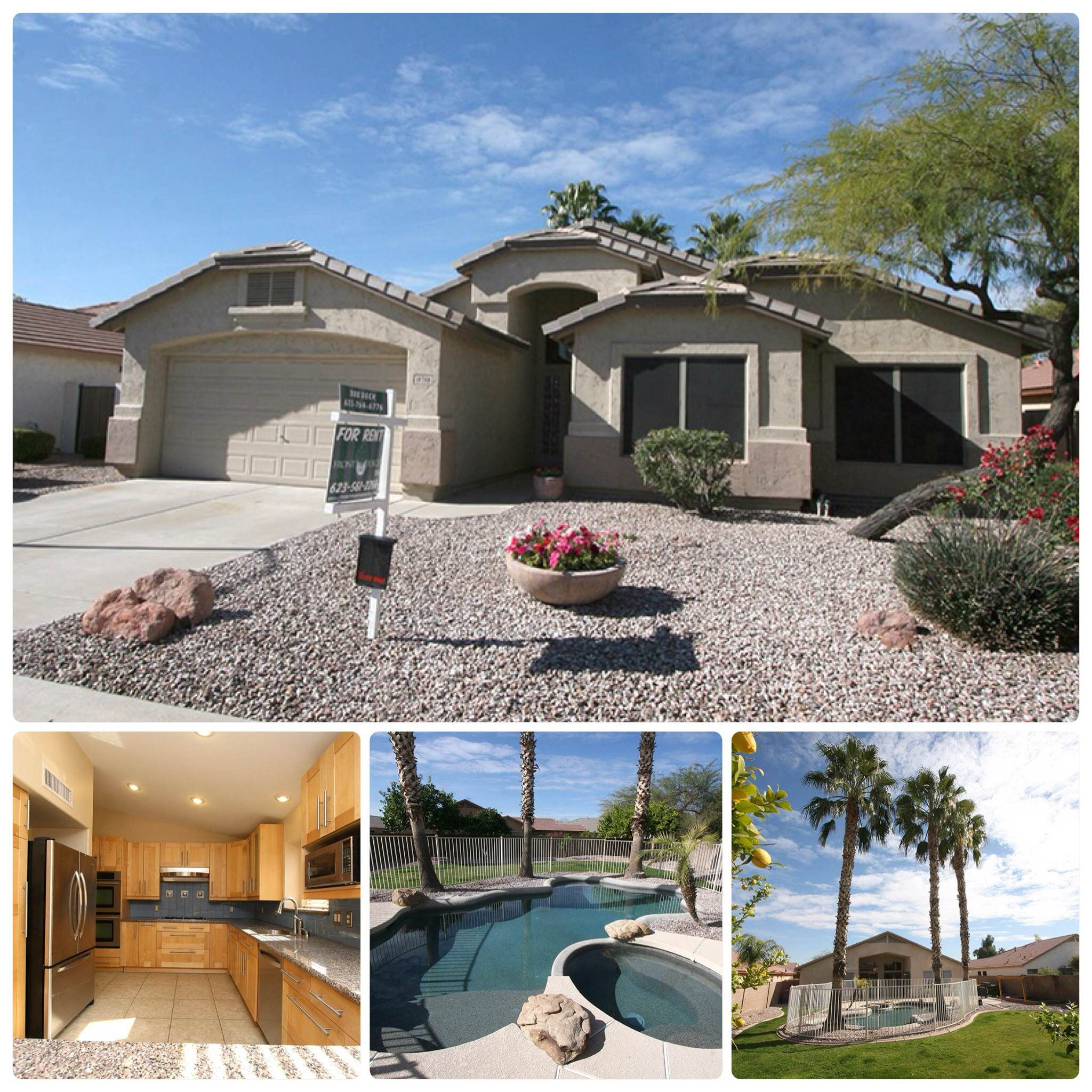 Check Out This Beautiful New Rental Home Of Ours This Is A 4bed 2bath Home Located In The Highlands Of Arrowhead Co House Rental Glendale Arizona House Styles