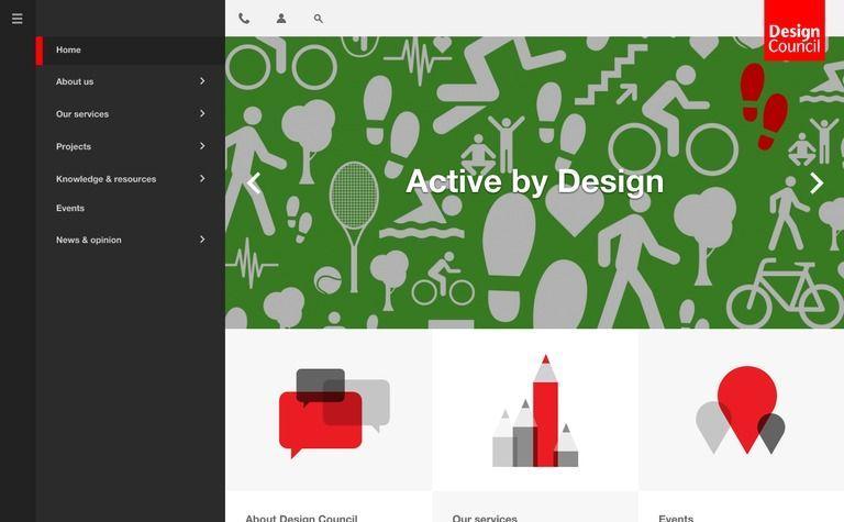 Medium Menu Layout Design Active Design