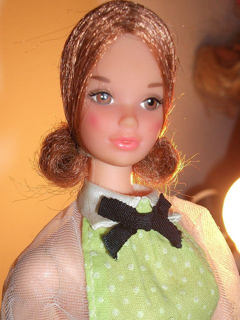 Barbie Kelley Quick Curl Steffie Head Mold Growing Up In The 60 S