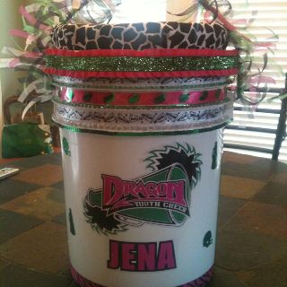 Best 25 Cheer Buckets Ideas On Pinterest Cheer Gifts