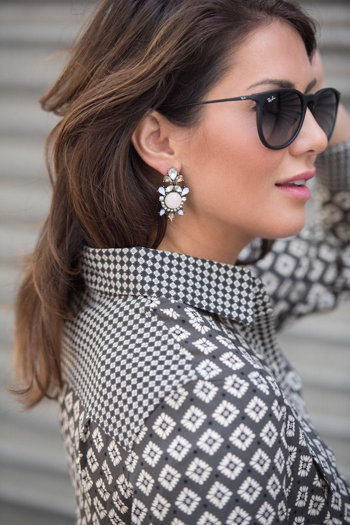 Statement pieces like these earrings are a must-have for fall! Check out my other go-to's from Bauble Bar ...
