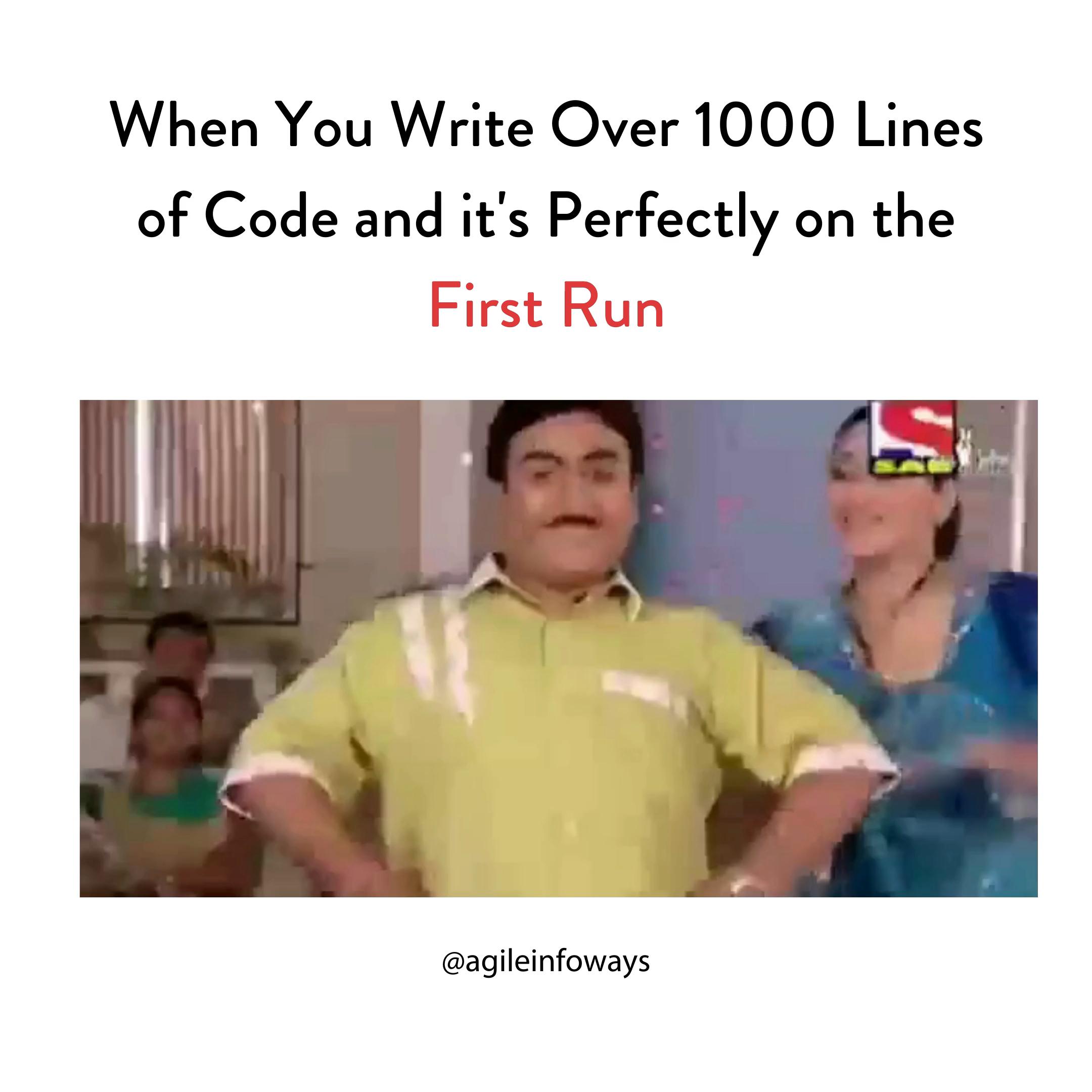 Developers Code😂🤣