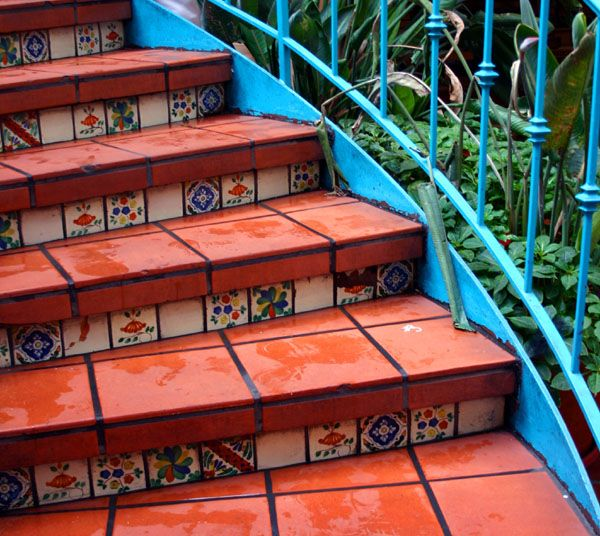 tile porch stairs