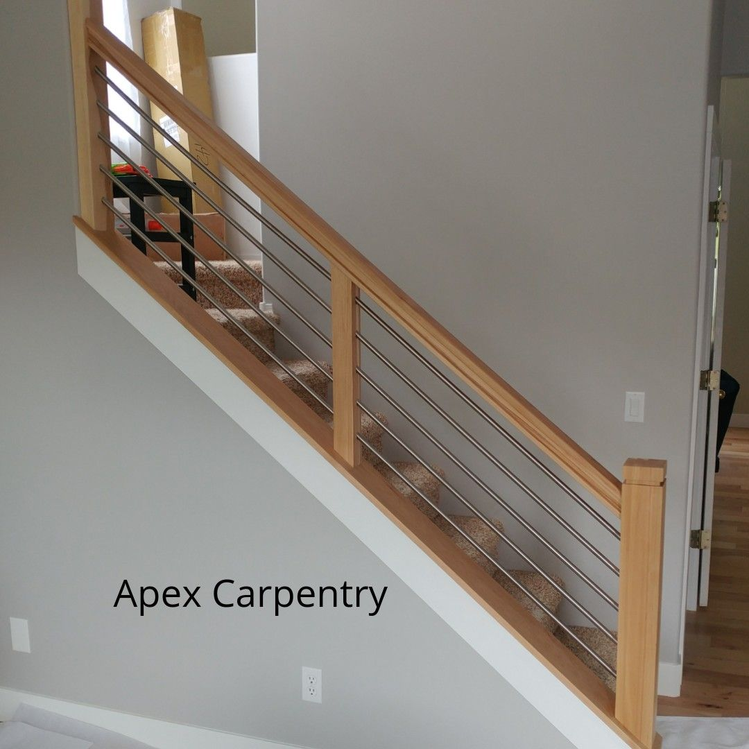 Best Pin By Apex Carpentry On Utah Stair Railings Modern 640 x 480