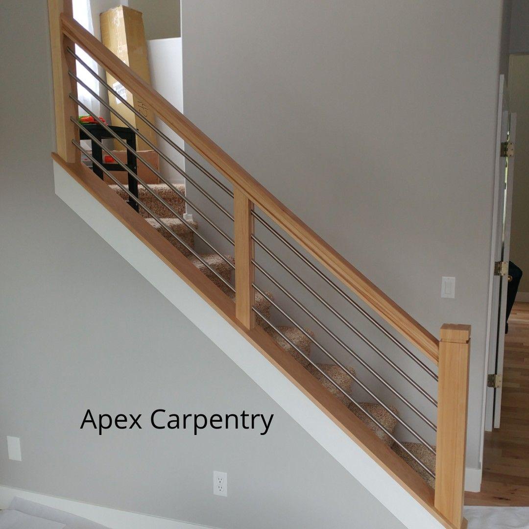Best Pin By Apex Carpentry On Utah Stair Railings Modern 400 x 300