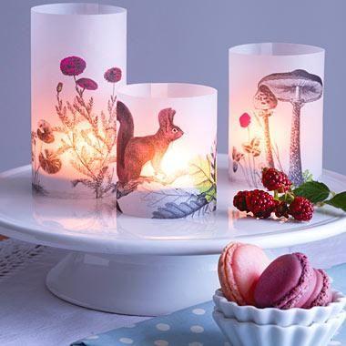 Gemütliches Licht - Bild 2 #tischdekoherbstesstisch