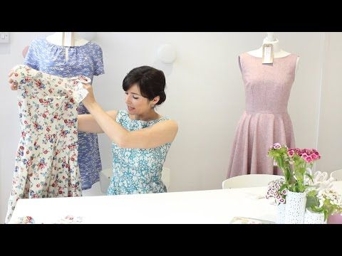 How to sew an all in one armhole and neckline facing - YouTube