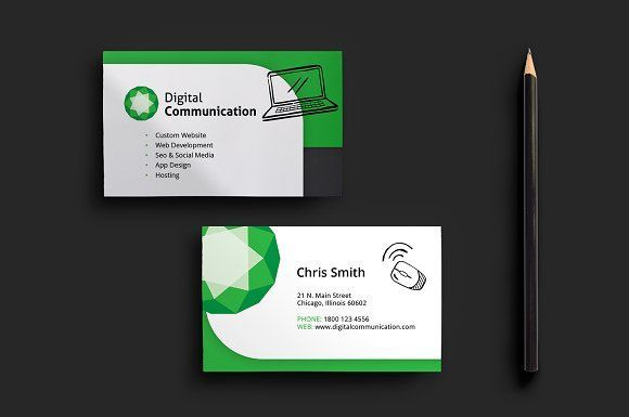 Best Web Designer Business Card Template CreativeWork247 - Fonts