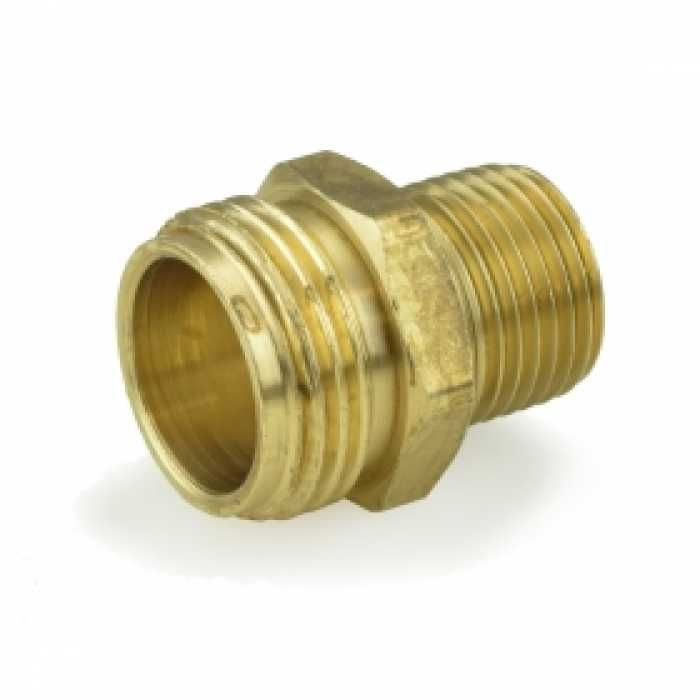 3 4 Mgh X 1 2 Mip Brass Adapter Lead Free Thread Adapter Lead Free Brass