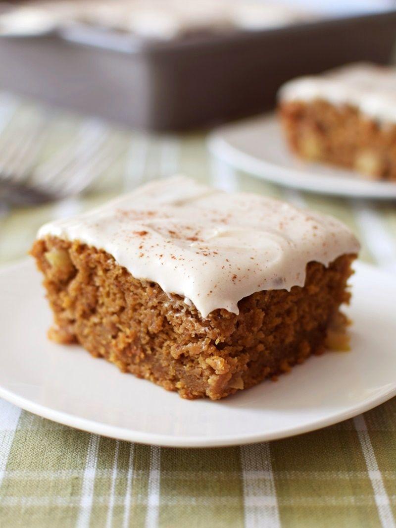 Gluten Free Pumpkin Apple Pie Cake With Optional Dairy