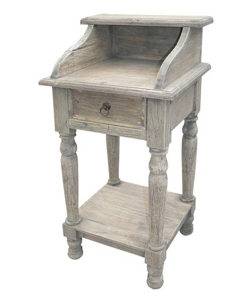 Look at this Teak Nightstand on #zulily today!