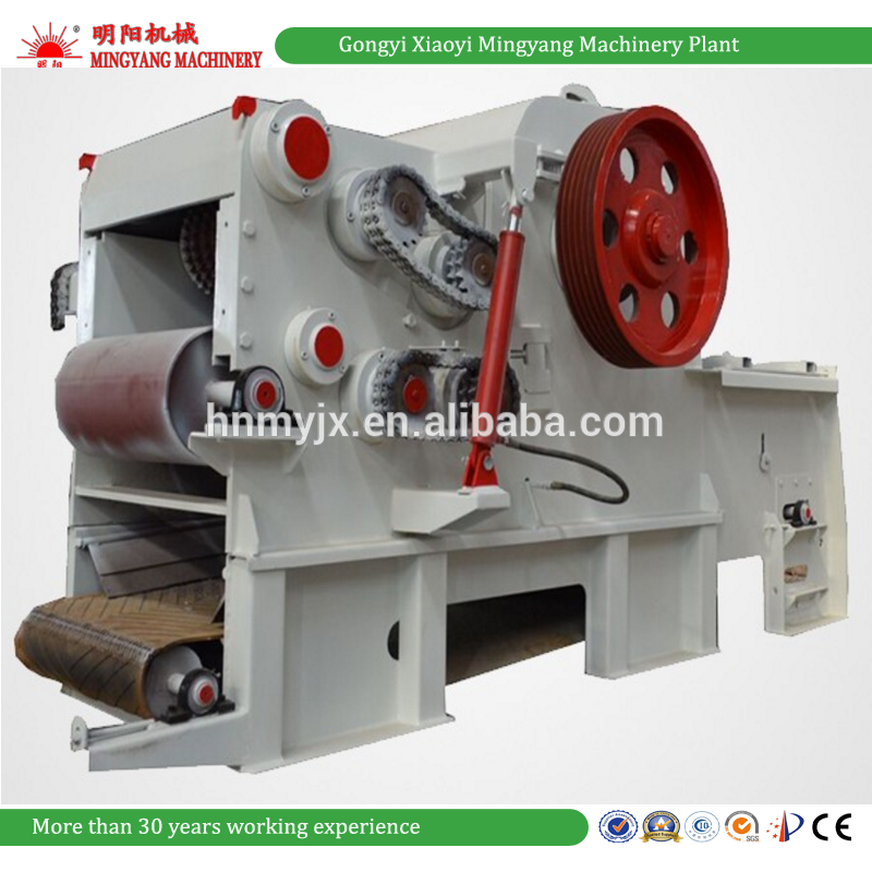Trustworthy Complete Automation Industrial Wood Chipper Diesel