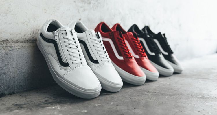 55abe09779c901 Vans Reveals Premium Leather Old Skool Zip Collection