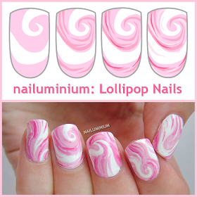 Nailuminium: Lollipop Nails (+tutorial)
