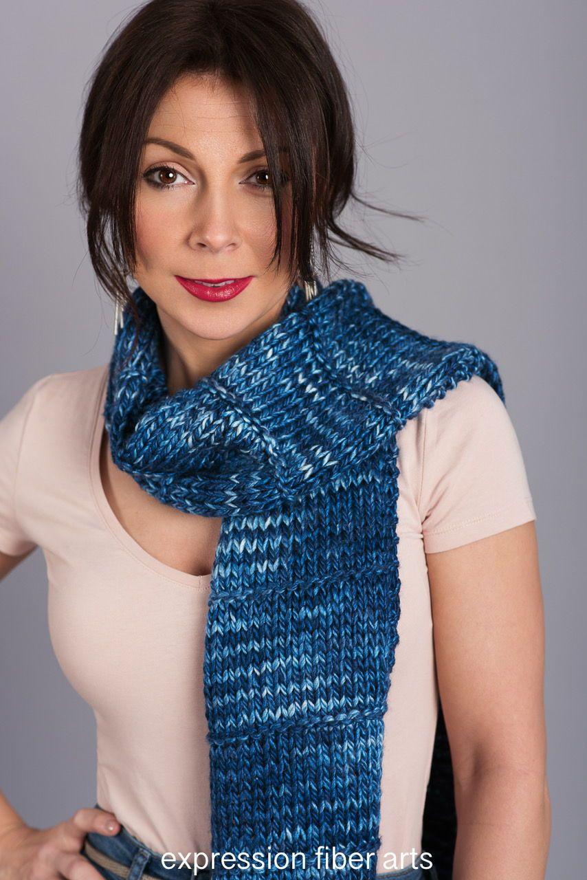 Free knitted scarf pattern amazing arklund scarf