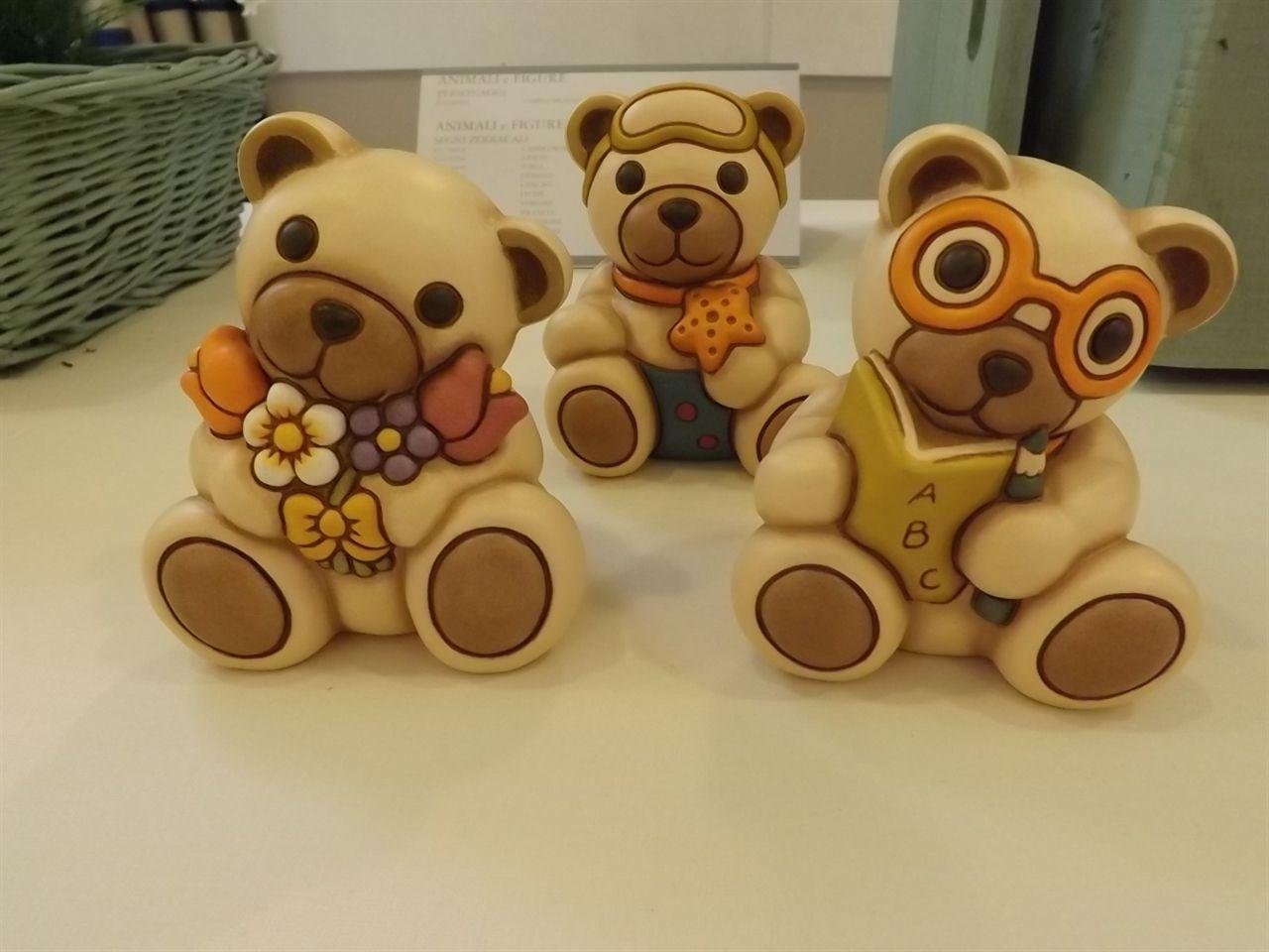 Mazzo Di Fiori Thun.Teddy Con Mazzo Di Fiori Art F2289h90 Con Stella Marina Art