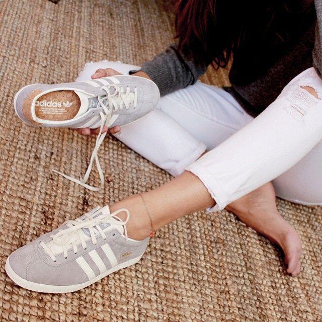 Adidas Gazelle Pink Chalk White