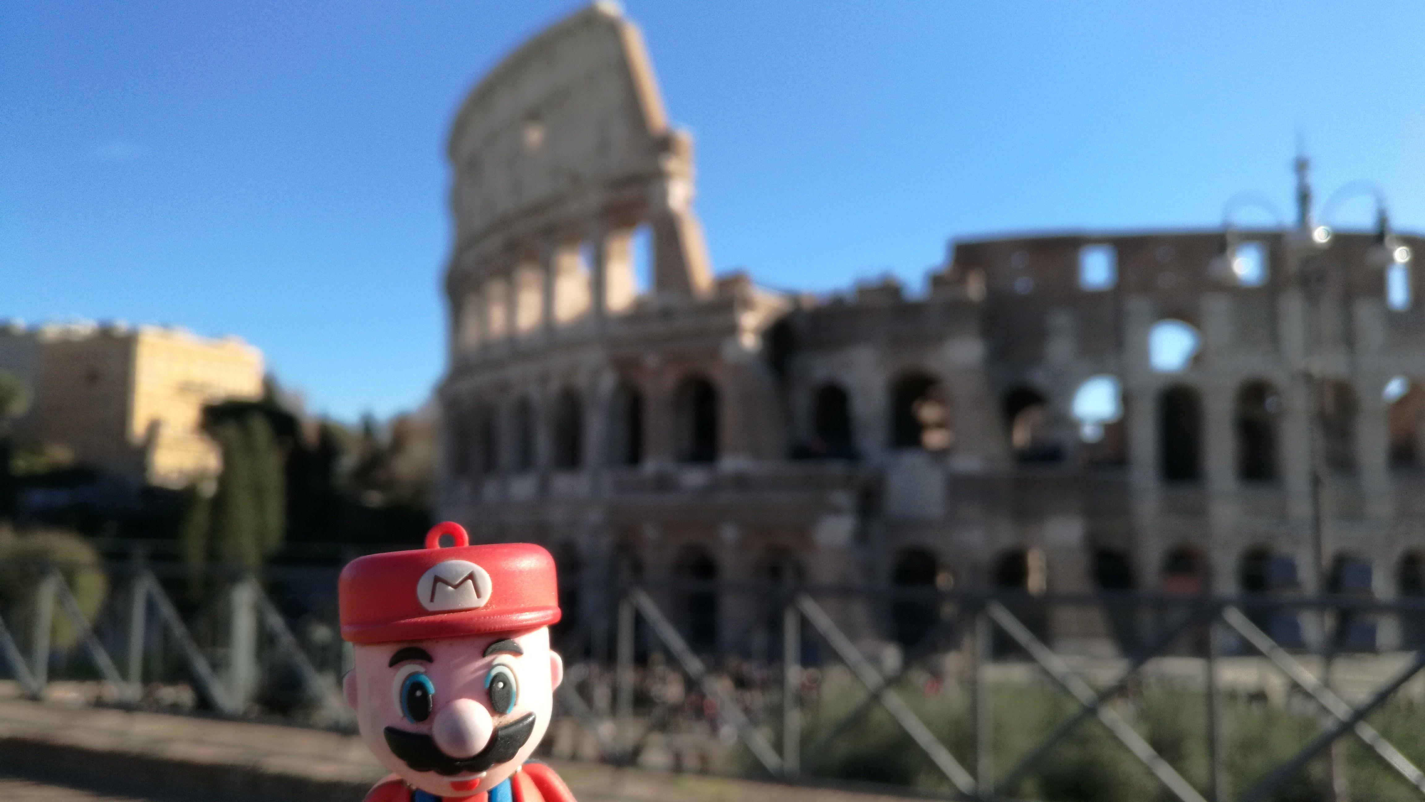 No, no es el típico croma, es el auténtico Coliseo