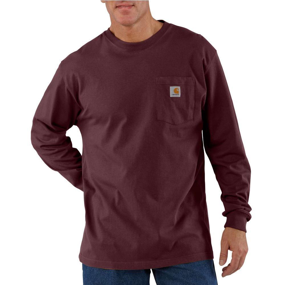 Carhartt Men S 4x Large Tall Port Cotton Workwear Pocket Long