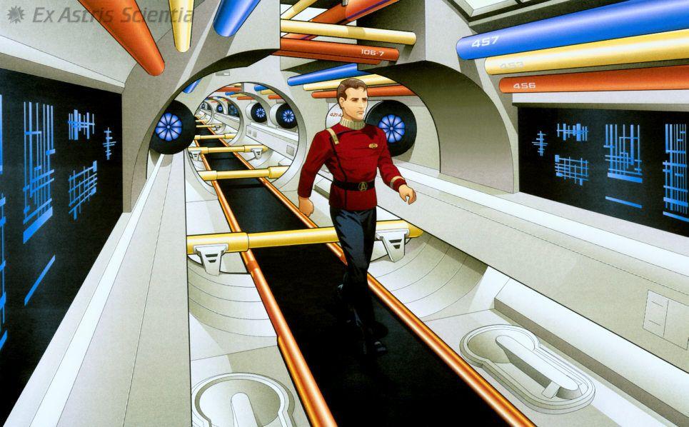 Jefferies Tubes U.S.S. Enterprise NCC 1701 A