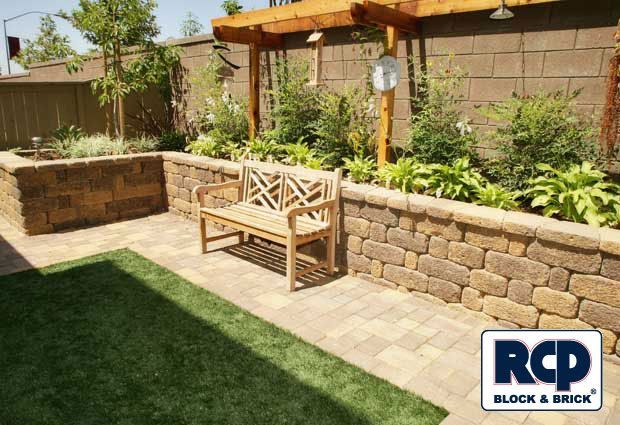 Backyard Planter Designs coat planters with glow in the dark paint for instant night lighting A Gallery Of Completed Landscape Wall And Retaining Wall Projects To Help Spark Ideas For Your Next Project