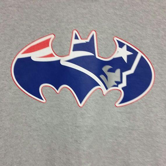 Batman Inspired New England Patriots Long Sleeve by TShirtCrazy ... 2293abe743f