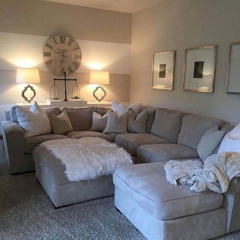 55+ Beautiful Farmhouse Living Room Makeover Decor Ideas