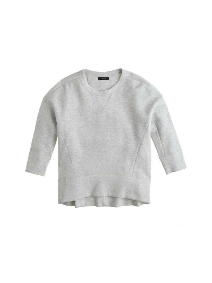 Pin for Later: On Your Mark, Get Set, Go — Shop CFDA x J.Crew Before It Sells Out Juan Carlos Obando For J.Crew Gemma Sweatshirt ($128) Source: J.Crew