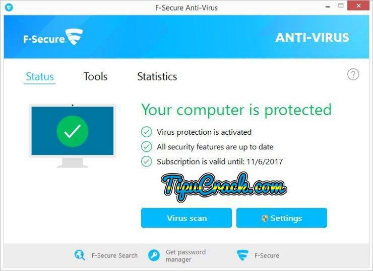 F-secure Antivirus 2017 Crack & Serial Key Latest Free