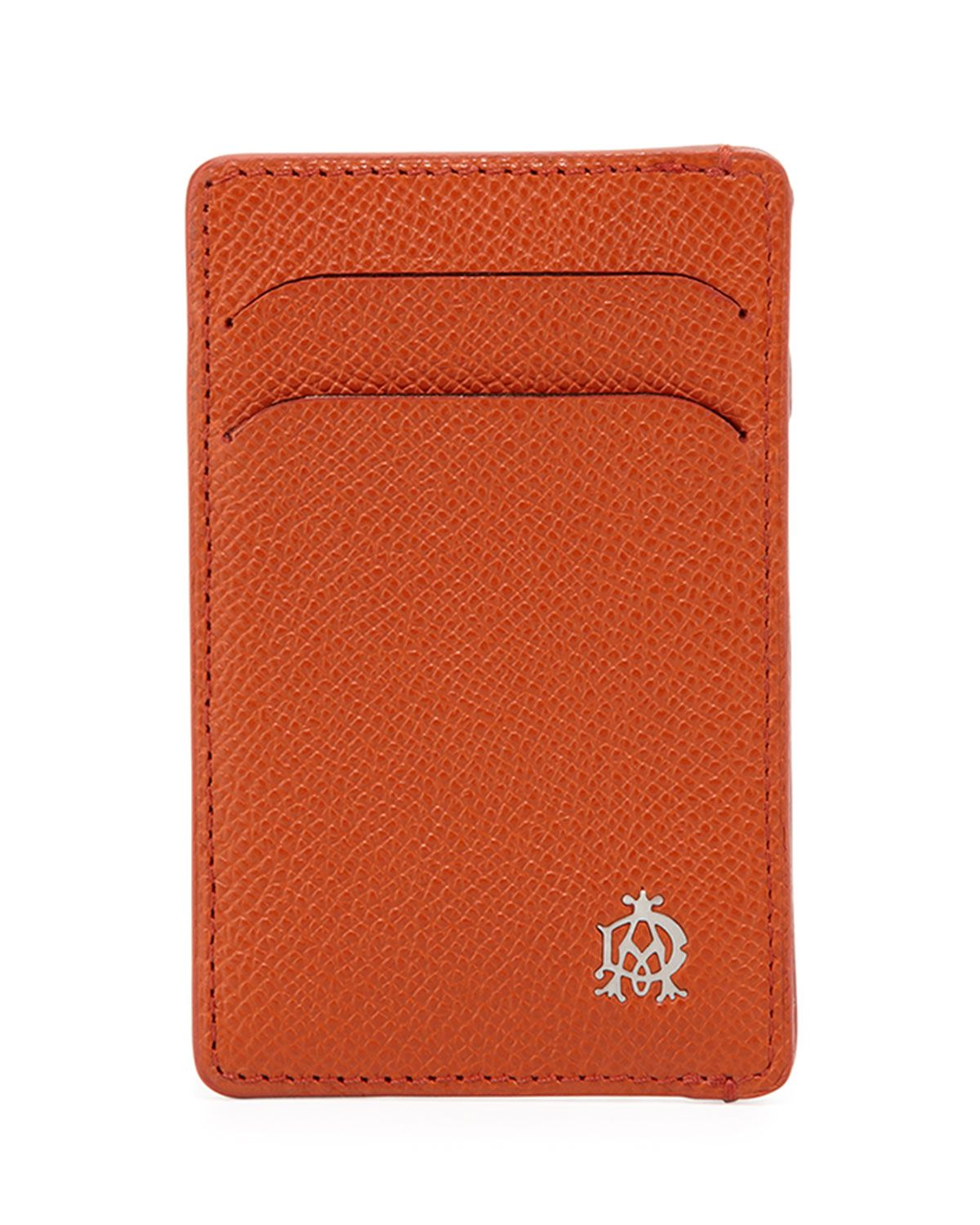 Bourdon Leather Card Case, Orange, Men\'s - dunhill | *Handbags ...