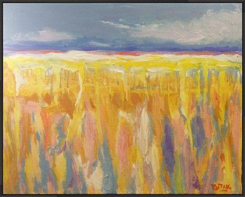 Original Impressionist Landscape Painting by RussPotakArtist