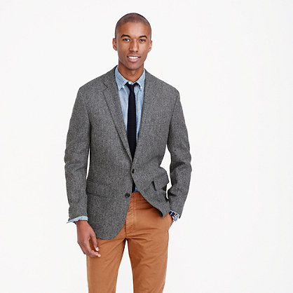 Ludlow blazer in herringbone English tweed | Sartorial Concerns ...