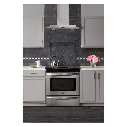 Living Room Fireplace Tile Noble Black Slate Arabesque Mosaic Floor Or Wall 12 X