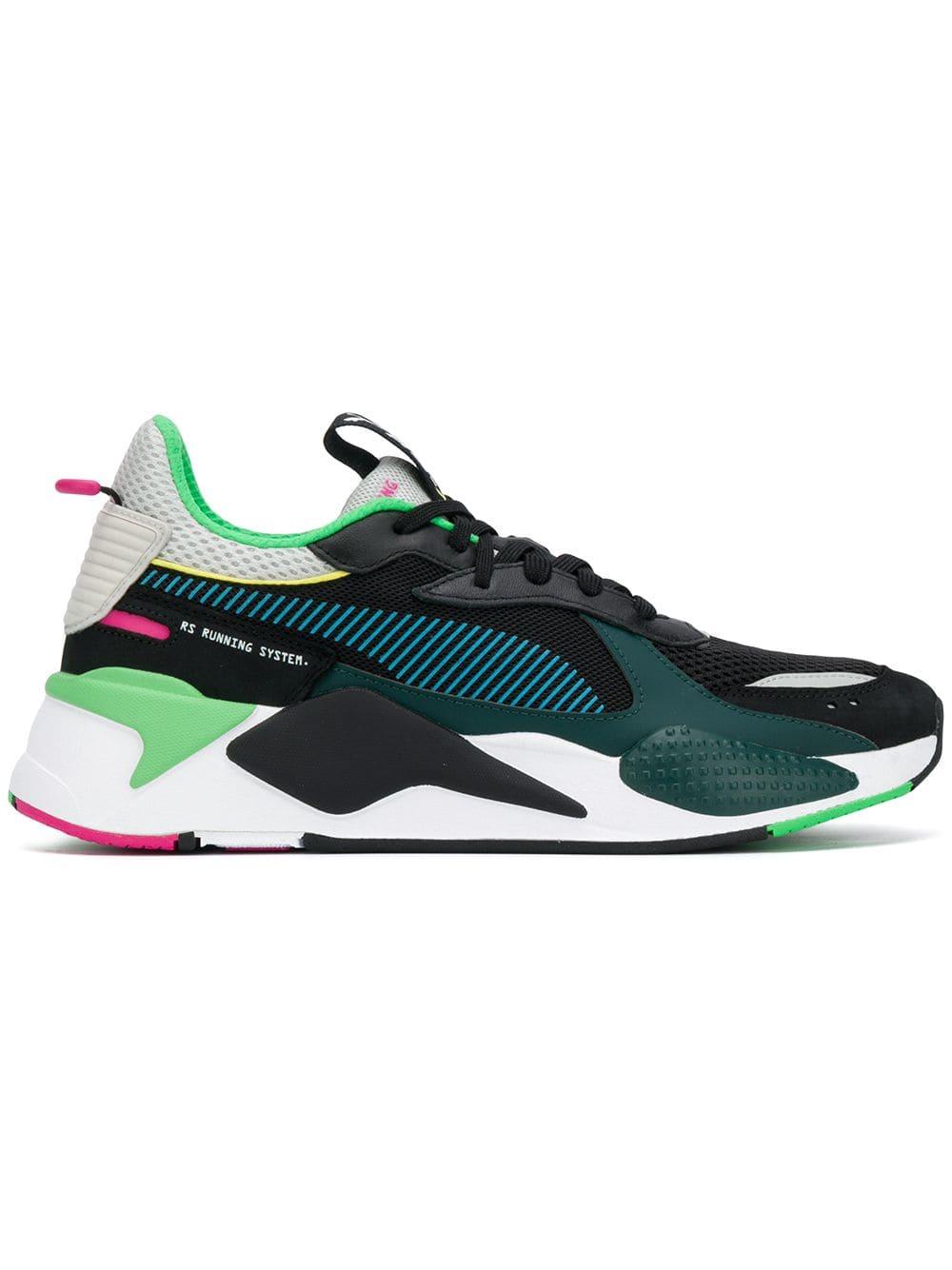 zapatillas saucony para correr mujer puma black green