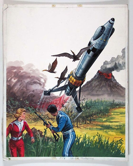 1950s science fiction art | original art for pulp novels ...