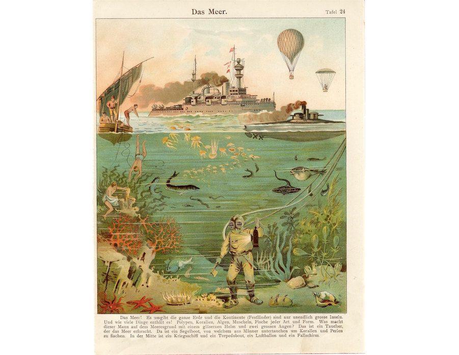 Sortil\u00e9ges Vintage Poster
