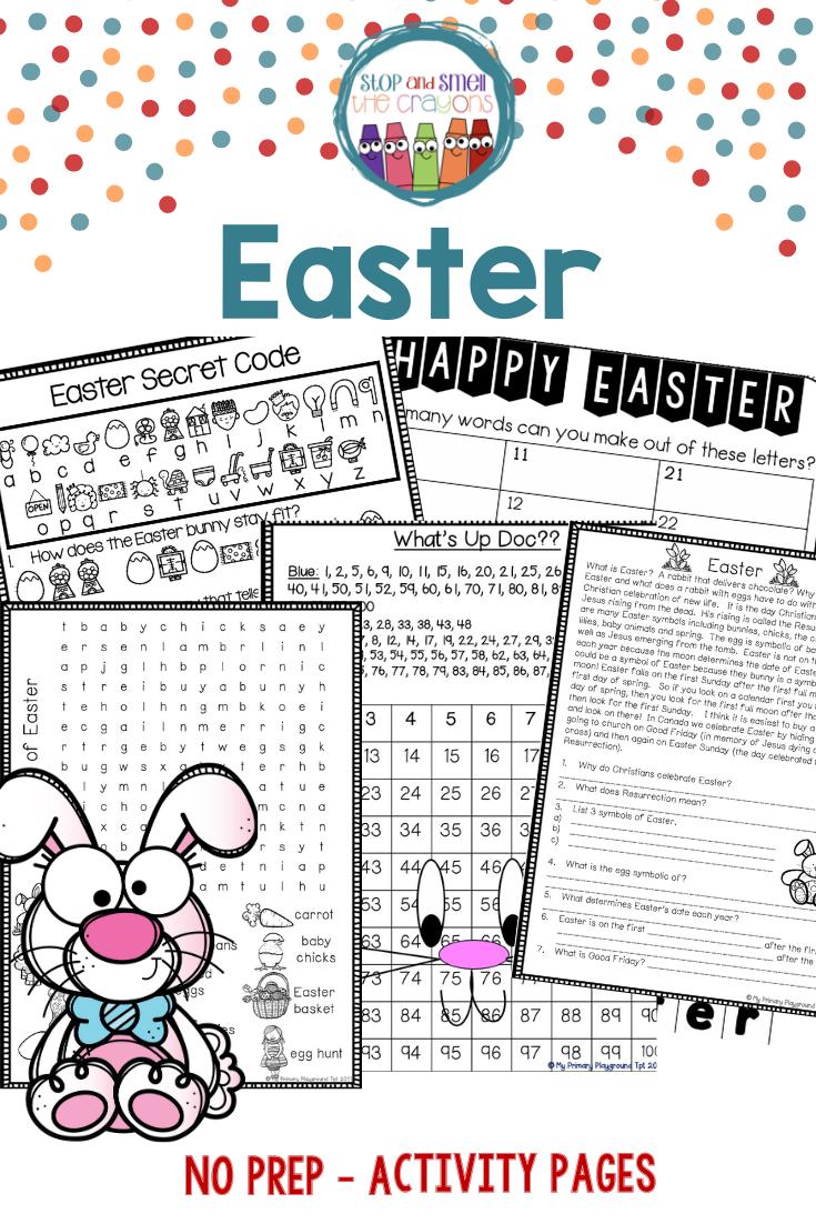 Easter Activities Easter Worksheets Easter Worksheets Easter School Phonics Activities [ 1102 x 735 Pixel ]