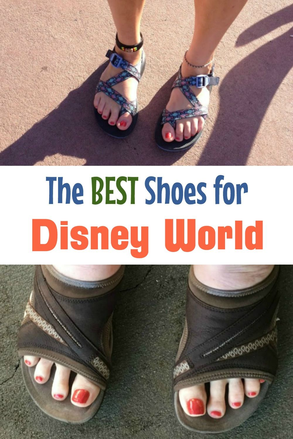 Sandals, Sneakers, and Walking Shoes