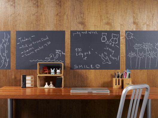 Chalkboard Removable Wall Decals - cute idea!