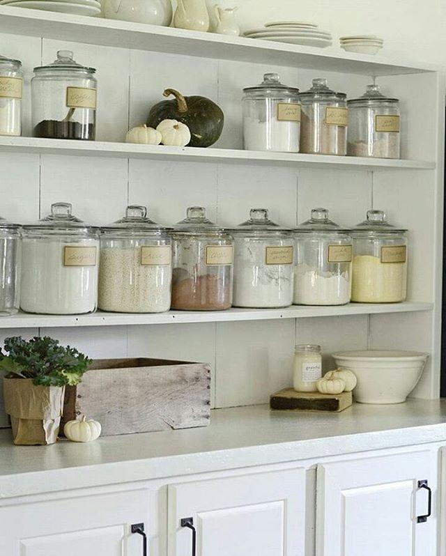 20 Charming Cottage Style Kitchen Decors: Meg (@hellofarmhouse) On