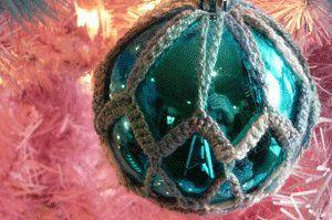Photo of Crochet Christmas Ornament Cover | AllFreeCrochet.com