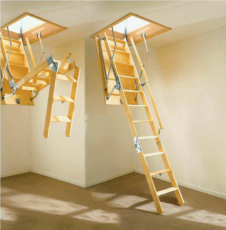 Stairs For Small Areas: Better Of Loft Staircase Concept For Small Areas