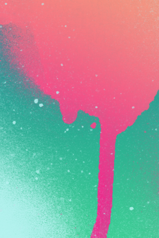 Paint Splatter Itunes Gift Card Inspired V1 Iphone 5 Wallpaper