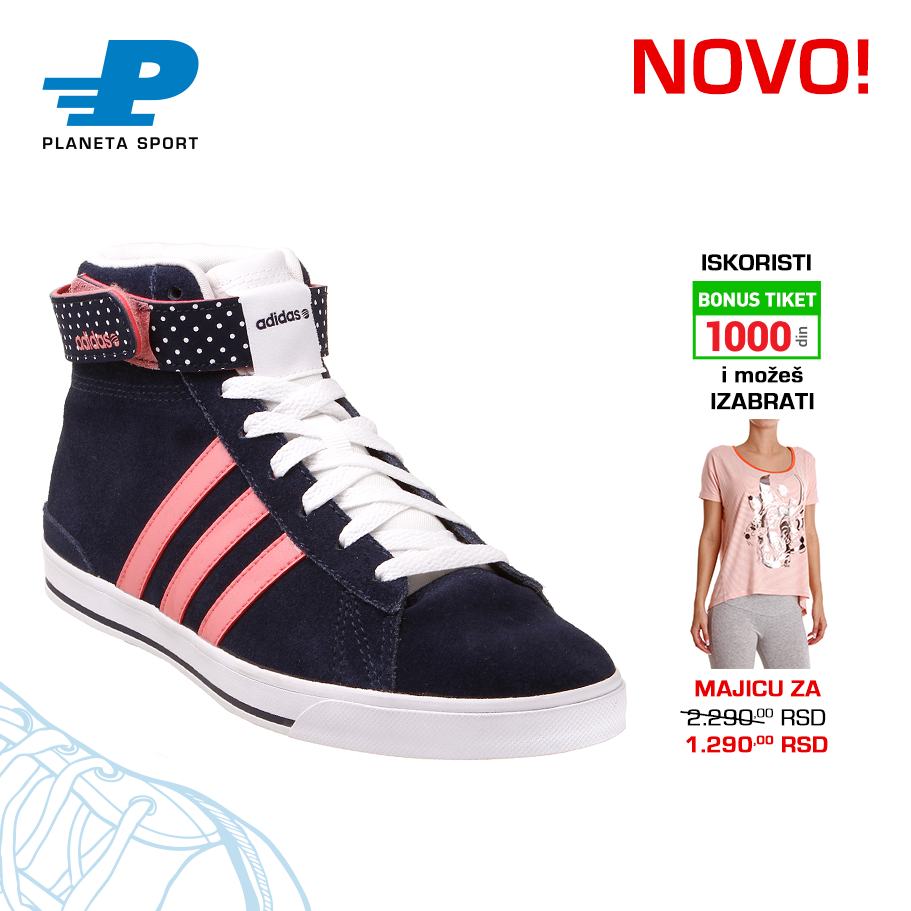 PATIKE DAILY TWIST MID W F97738 Adidas sneakers