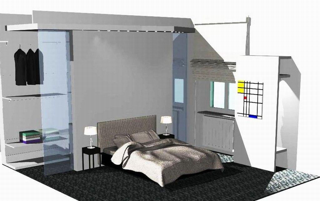 Cabine Armadio Progetto : Progetto architettura progettazione di cabina armadio realizzato